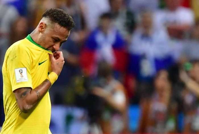 Neymar não teve uma boa atuação contra a Bélgica e foi criticado