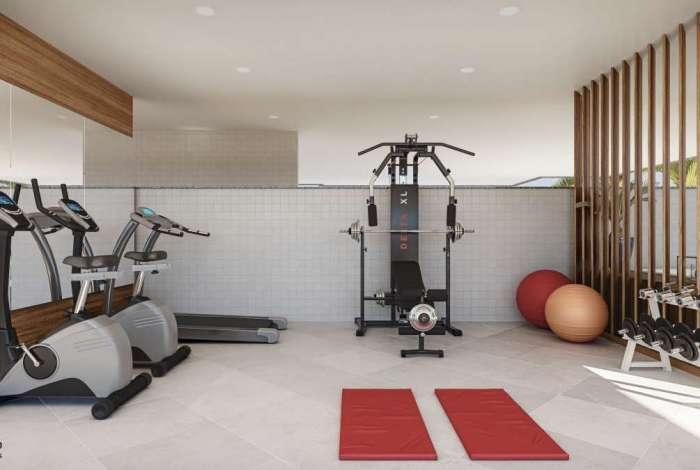 Independentemente do tamanho, o espaço para                atividades terá de ter professor de educação física
