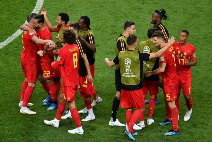 Bélgica derrotou o Brasil