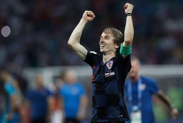 Luka Modric é o craque croata