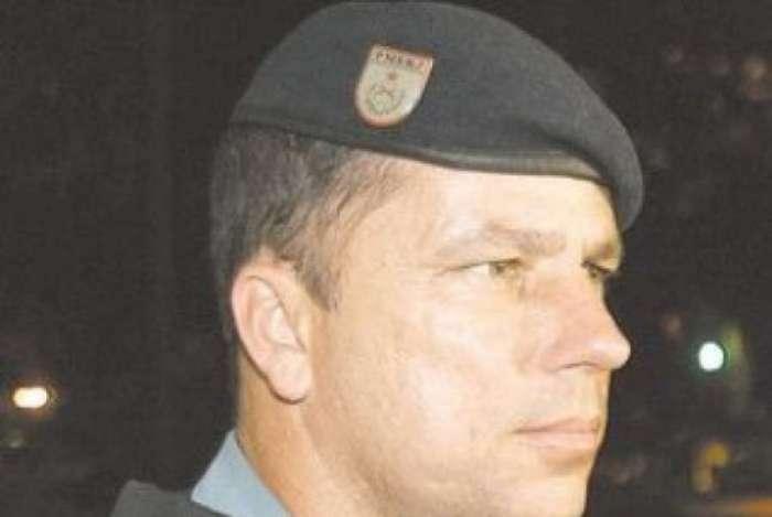 Major Edson, um dos PMs condenados