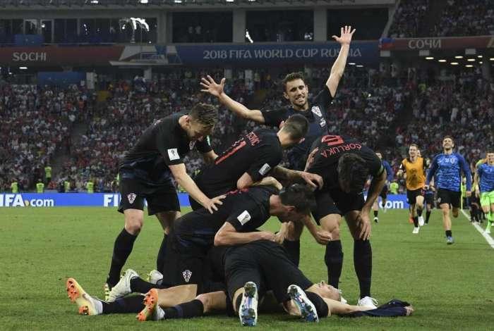 'Zebra' Croácia está na final
