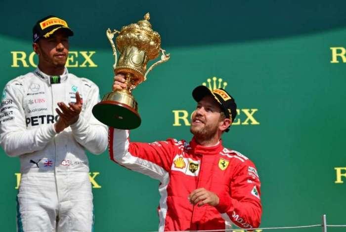 Vettel venceu prova emocionante