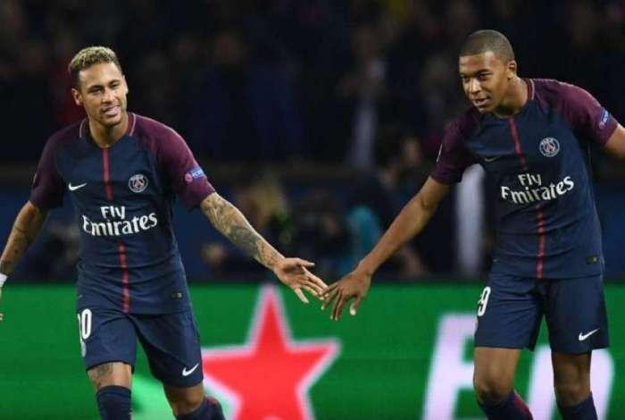 Neymar e Mbappé são os principais nomes do PSG