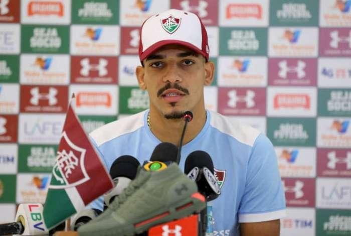 Gilberto vem sendo desfalque no Fluminense