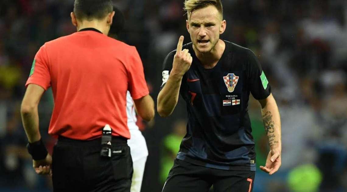 Inglaterra e Croácia se enfrentaram nesta quarta-feira