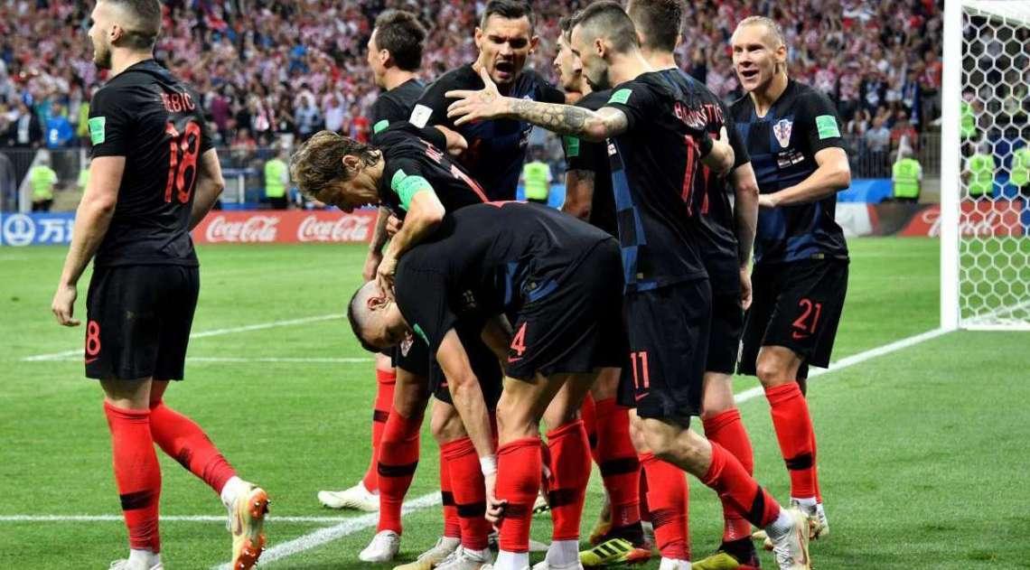 Inglaterra e Croácia se enfrentaram nesta quarta-feira e a equipe croata se classificou para a final