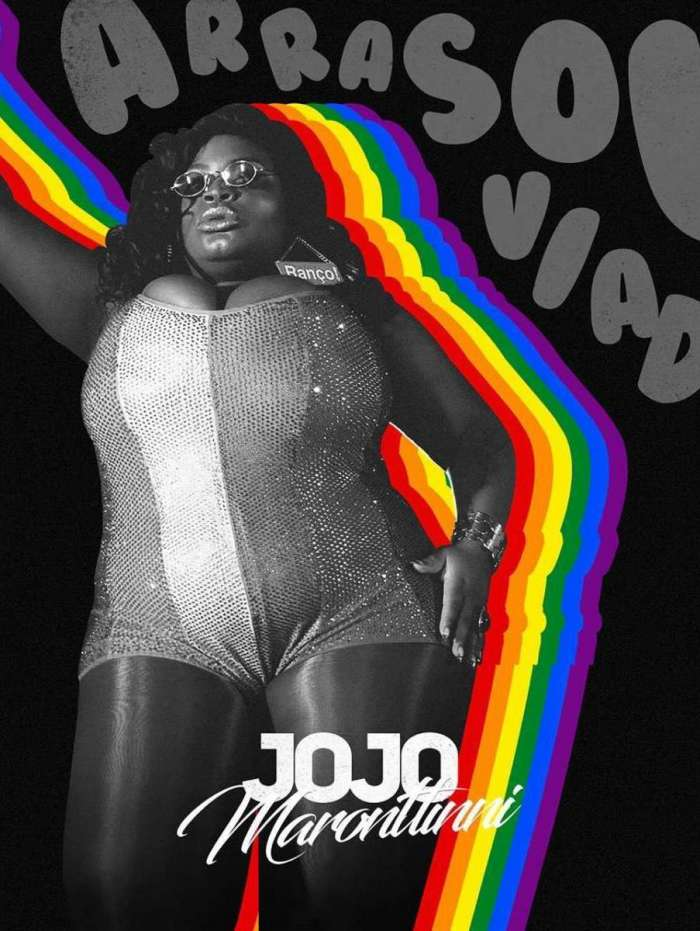 Capa de 'Arrasou Viado', o novo single de Jojo Todynho