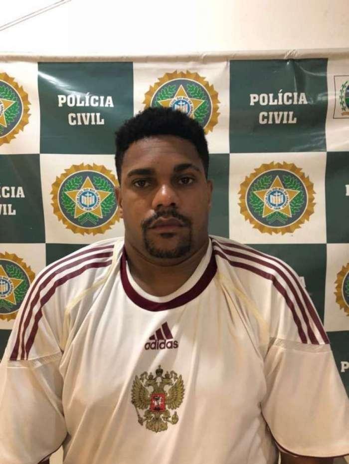 Alexandre da Silva Rodrigues, vulgo Chandoca, homem de confiança do chefe do Pavão Pavãozinho e Cantagalo