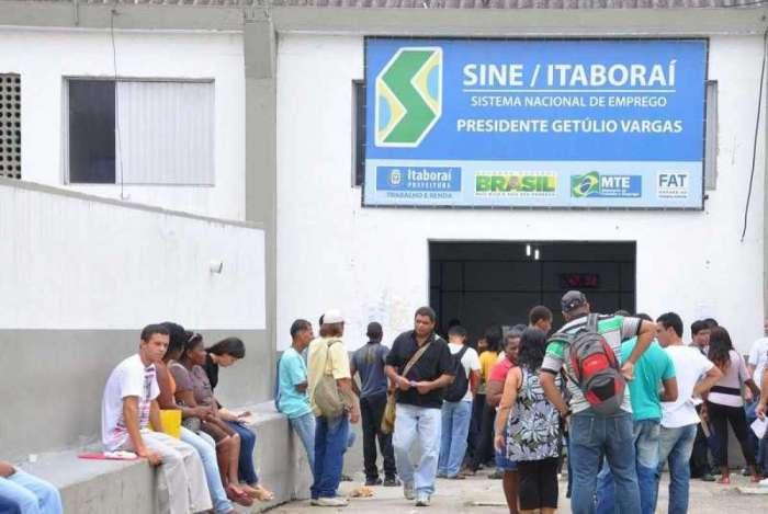 Sine de Itaboraí cadastra candidatos a vagas de emprego