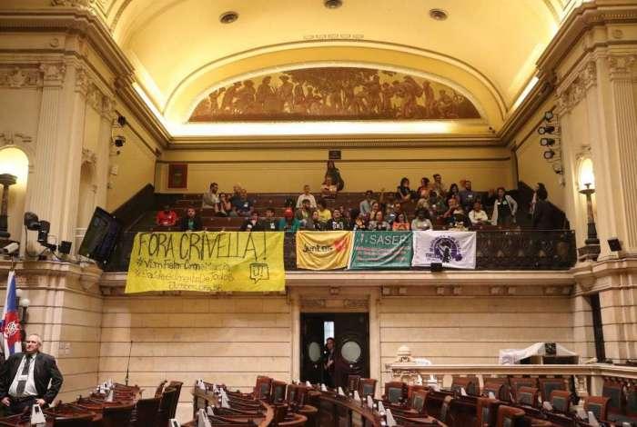 A Câmara  Municipal do Rio, em sessão extraordinária depois de suspender o recesso, inicia discussão, nesta quinta-feira