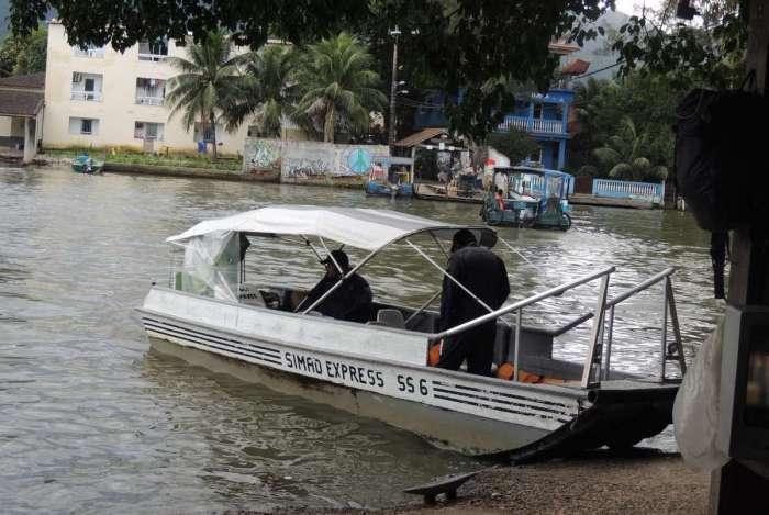 Moradores das ilhas Primeira e da Gigoia pedem regularização de barcos-táxi