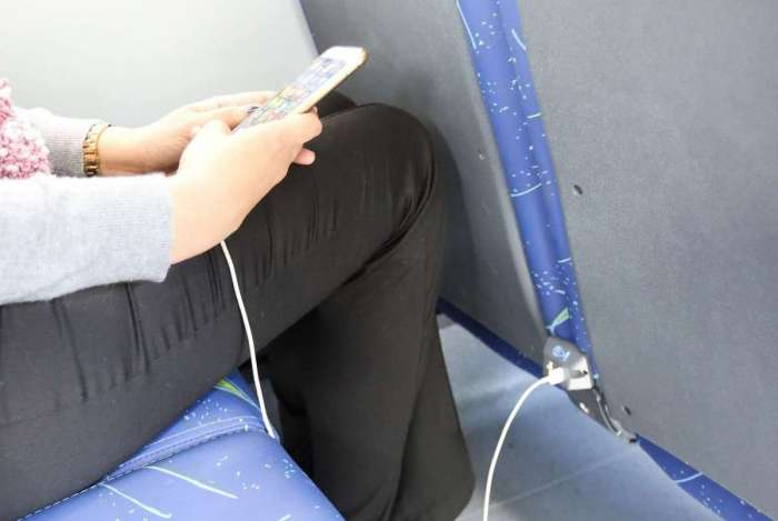 Novos ônibus terão ar-condicionado, wi-fi e carregadores de celular