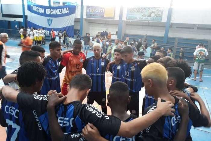 1fe6b74a2f Equipe sub-17 de futsal de Nova Iguaçu leva a medalha de prata em competição