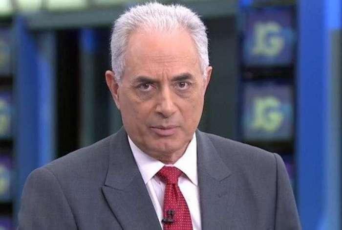 William Waack diz estar 'imensamente feliz' com a contratação pela CNN Brasil