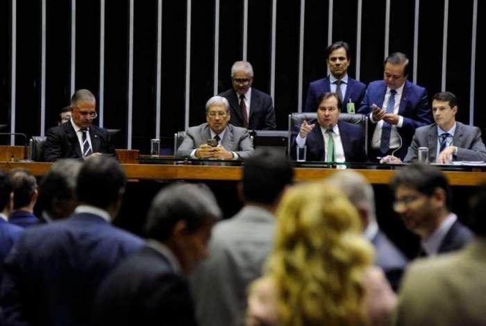 Presidente da Câmara Federal, Rodrigo Maia (DEM)