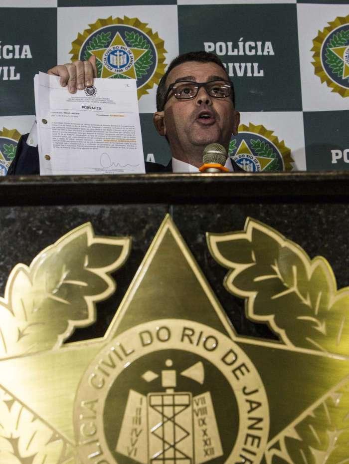 Chefe da Polícia Civil, Rivaldo Barbosa