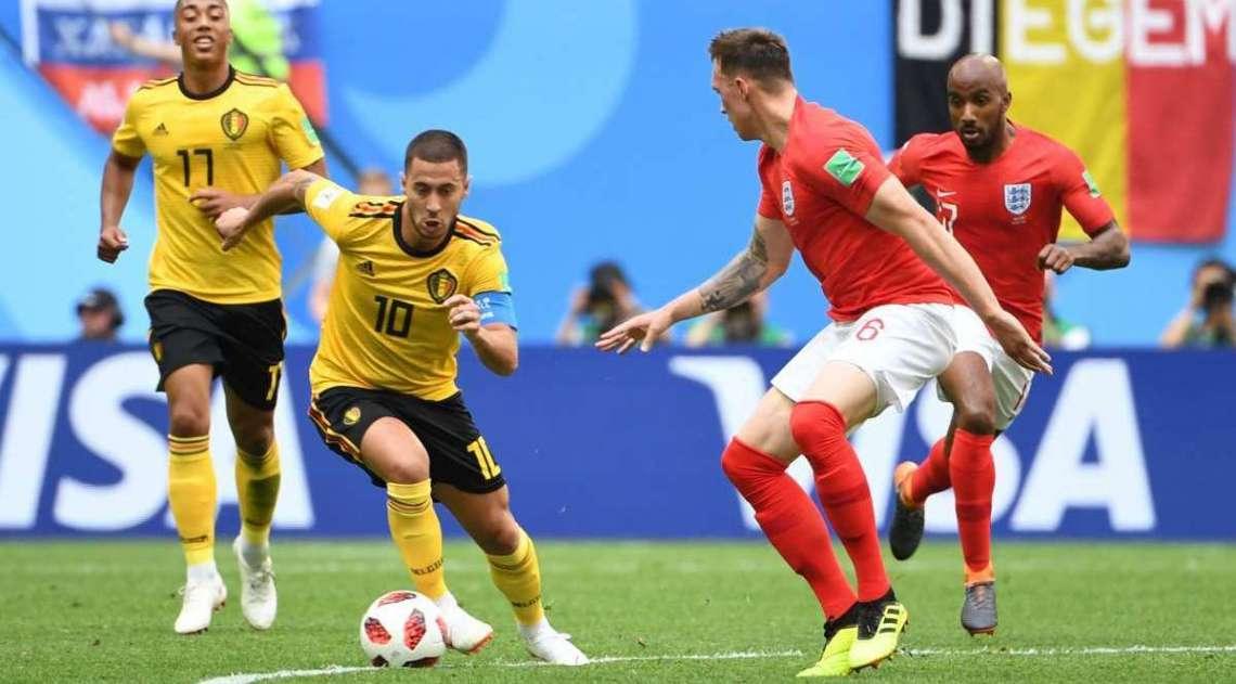 Bélgica e Inglaterra disputaram terceiro lugar da Copa do Mundo em São Petesburgo