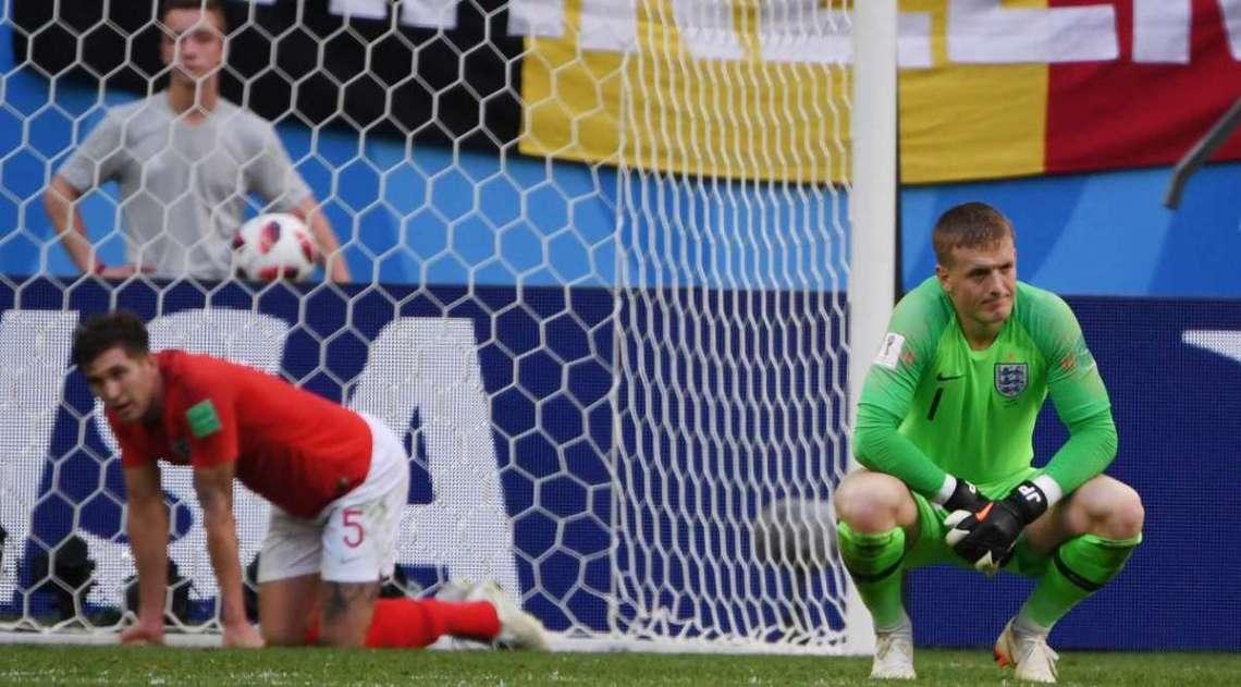 Bélgica e Inglaterra disputaram o terceiro lugar da Copa do Mundo em São Petesburgo
