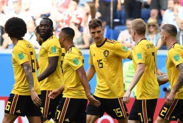 Bélgica bateu a Inglaterra por 2 a 0