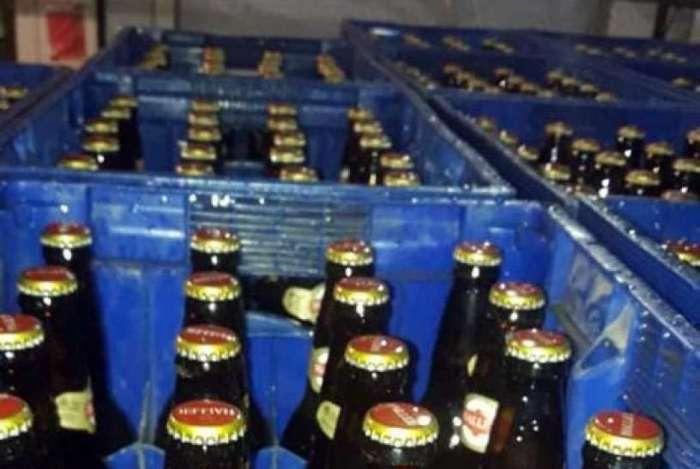 Bebidas eram vendidas a bares e casas de shows da região