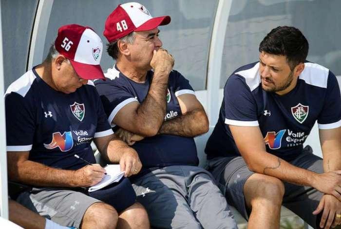 Marcelo Oliveira é o treinador do Fluminense