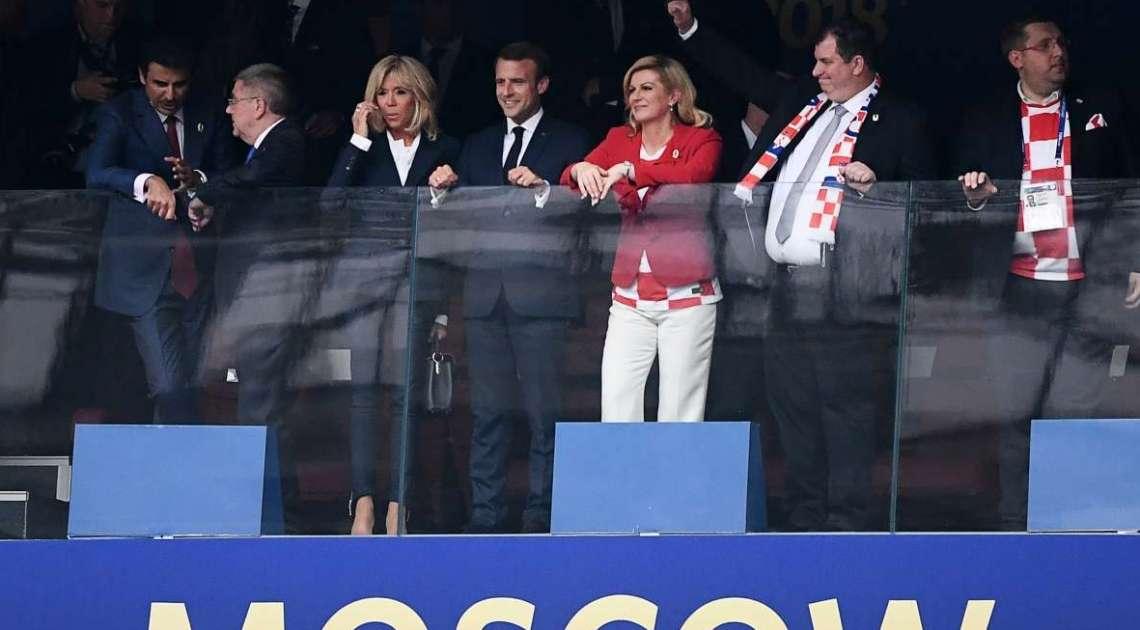 Cerimônia aconteceu antes da final da Copa