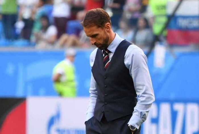 Gareth Southgate afirma que seleção inglesa ainda não está entre as quatro melhores do mundo
