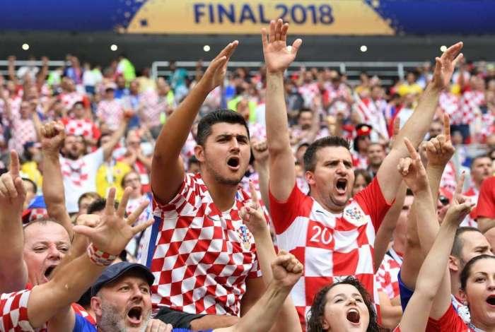 França e Croácia decidiram a final da Copa do Mundo no Estádio de Lujniki