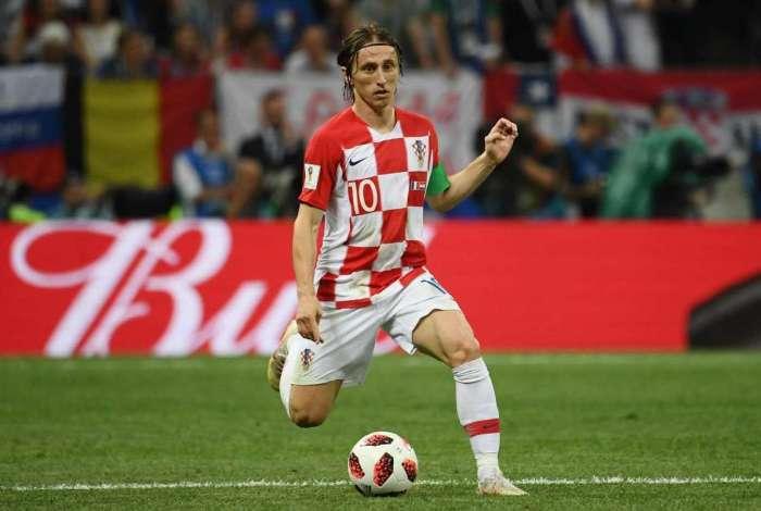 Luka Modric foi eleito o melhor da Copa