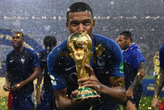 Mbappé foi o grande destaque da França na Copa do Mundo