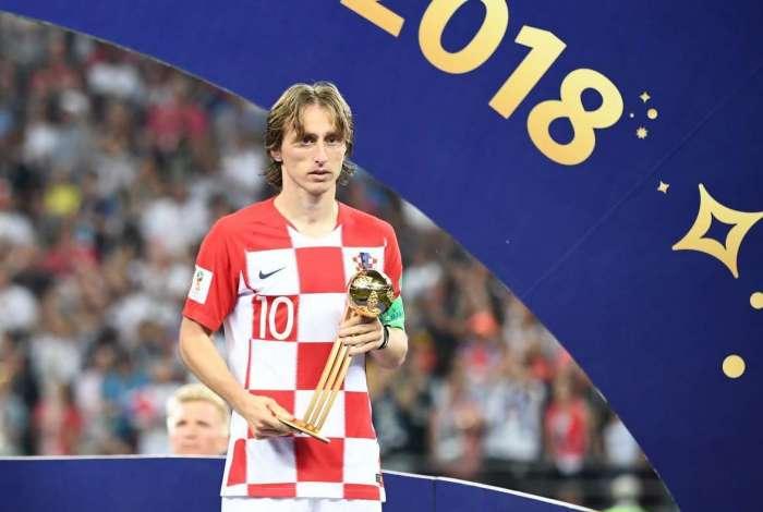 O croata Luka Modric