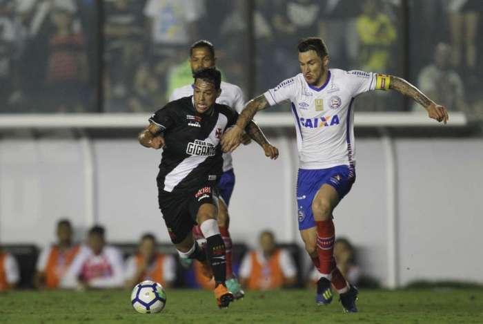 Vasco venceu o Bahia mas acabou eliminado na Copa do Brasil