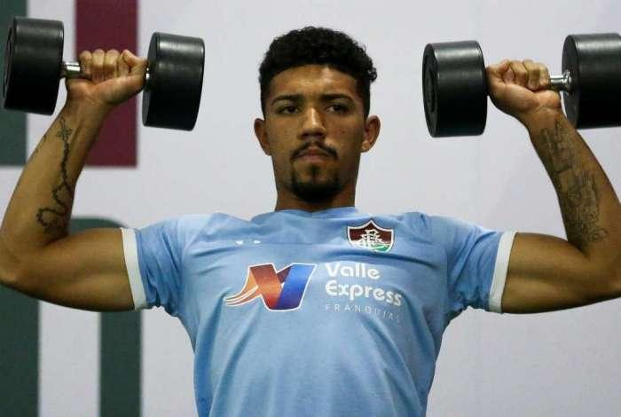 Douglas se despediu do Fluminense