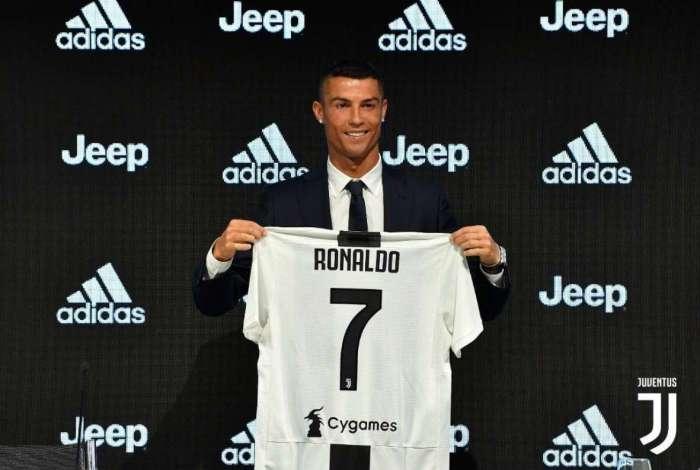Cristiano Ronaldo foi a principal contratação da Juventus
