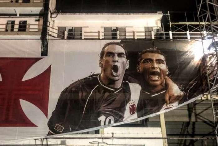 Edmundo e Romário marcaram época no Vasco