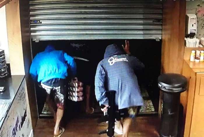 Assaltantes armados invadem restaurante no Jardim Botânico