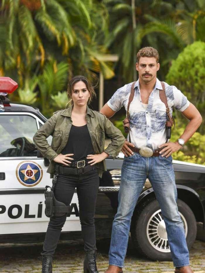 Tatá Werneck e Cauã Reymond são protagonistas do filme 'Uma Quase Dupla': comédia, ação e suspense