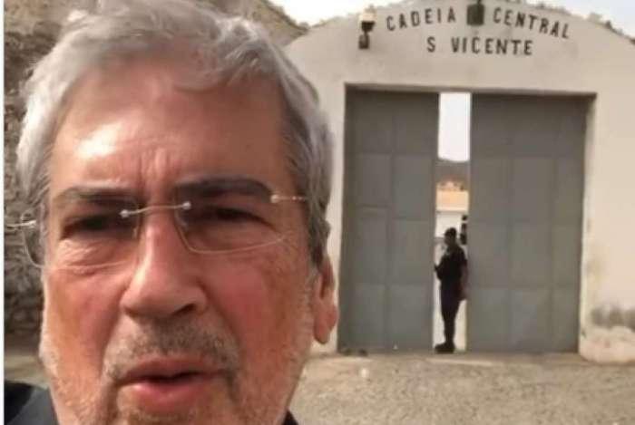 Deputado Antonio Imbassahy (PSDB-BA) visita brasileiros em prisão de Cabo Verde