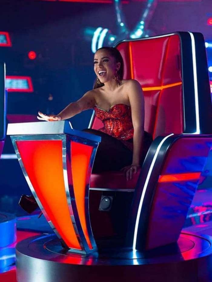 Anitta é jurado do 'La Voz' no México