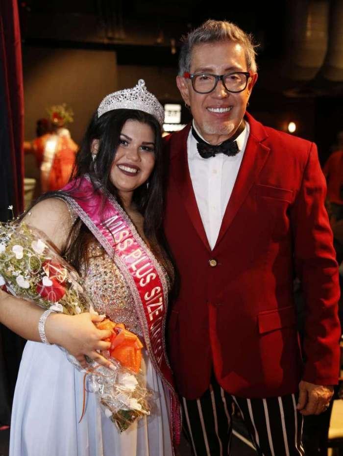 Nicolle é a mais jovem de todos os concursos GG de Eduardo Araúju