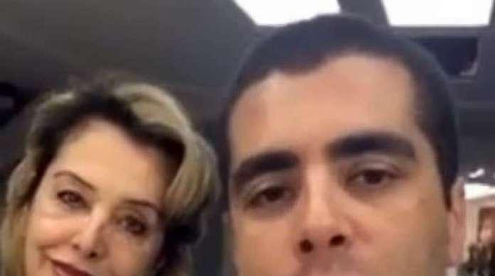 Denis Furtado e sua m�e, Maria de F�tima, s�o foragidos da Justi�a