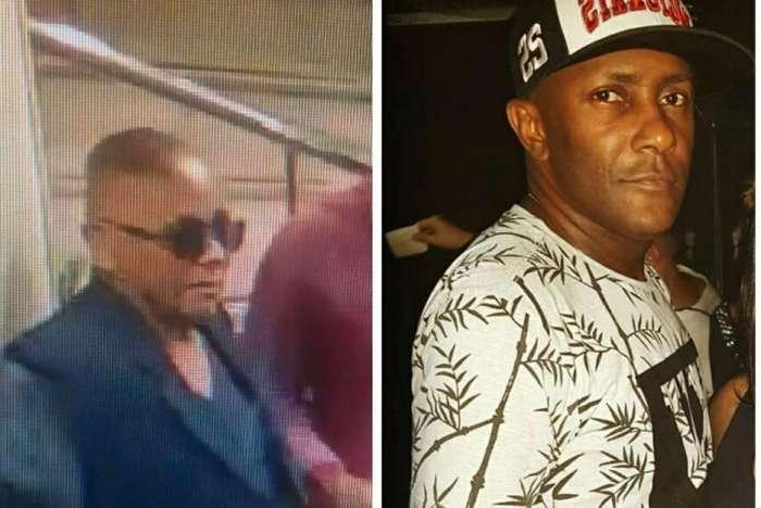 Imagens do ladrão e Antonio Carlos (foto à direita), preso injustamente, se espalharam nas redes sociais