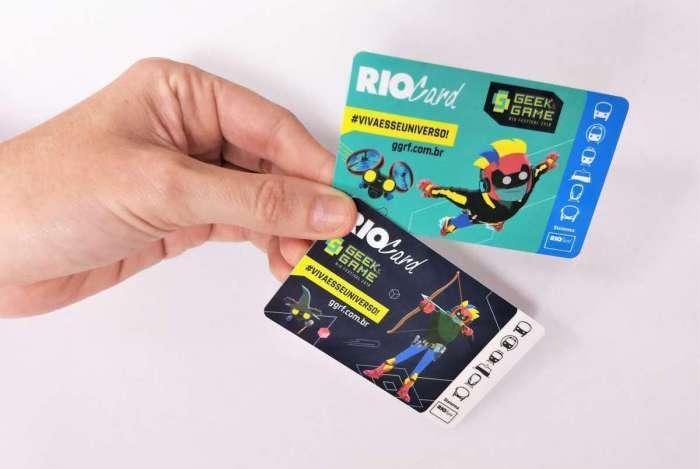 RioCard lança cartões Expresso edição comemorativa do Geek & Games Rio Festival