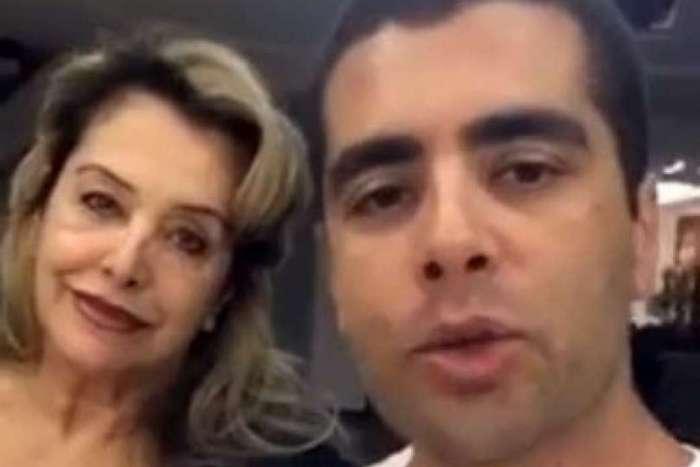 Denis Furtado e sua mãe, Maria de Fátima, são foragidos da Justiça