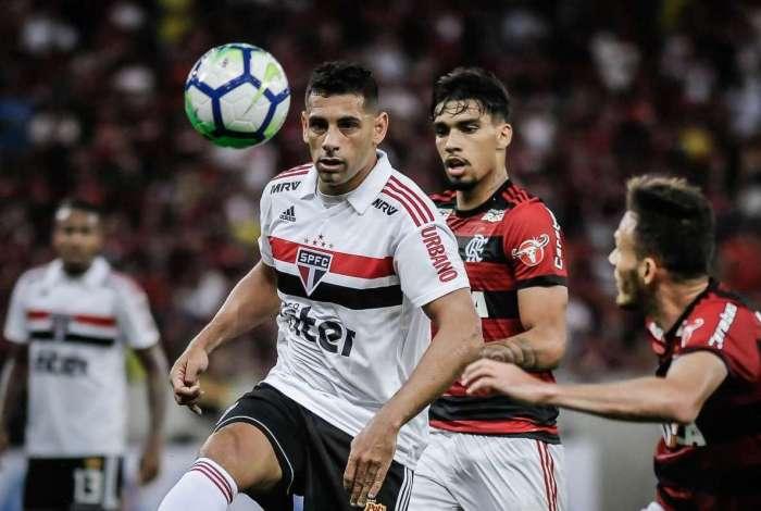 São Paulo venceu o Flamengo por 1 a 0
