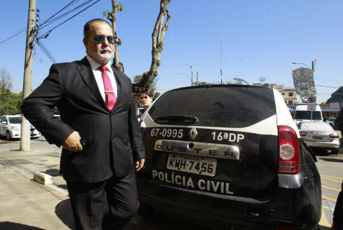 O advogado Marcus Cezar Feres Braga, que defende Denis Cesar Barros Furtado