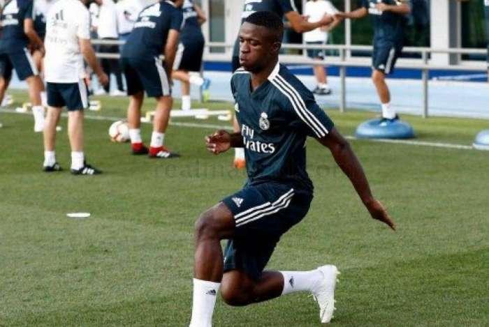 Vinicius Junior foi elogiado
