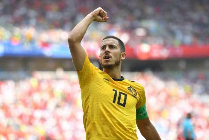 Hazard foi um dos destaques da Copa do Mundo