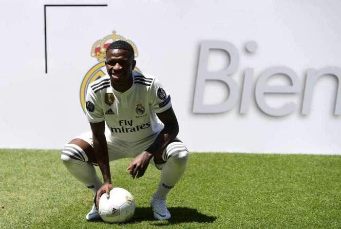 Vinicius Junior está em busca de espaço no Real Madrid